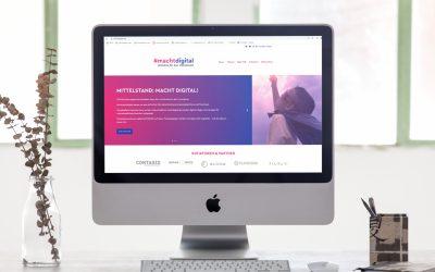"""Pressemitteilung """"#machtdigital will zum Content-Publisher werden"""""""