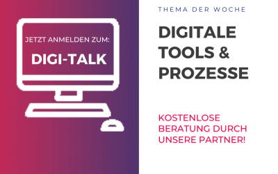 Digitale Lösungen im Fokus des dritten Digi-Talks